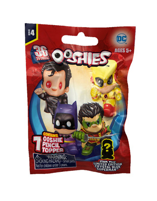 NEW! Ooshies DC Comics Series 4. Blind Bag. Common, Rare, Ltd Edition To Find!