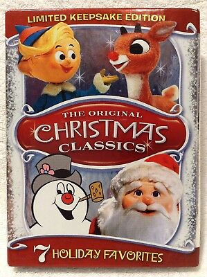 original christmas classics dvd box set 7 tv cartoon movies frosty rudolph santa - Christmas Classics Dvd