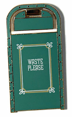 RARE AUTHENTIC DISNEY Pin 75321 Haunted Mansion DLR trashcan WDI Cast LE 300