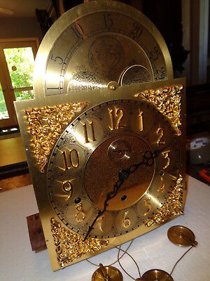 Vintage-Howard Miller-Multi Chime-Grandfather Clock Movement-#P568