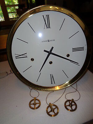 Vintage-Howard Miller-Westminster Chime-Grandfather Clock Movement-#P576