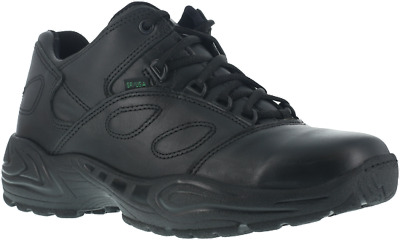 🔥Reebok CP8101 Mens Black Postal Athletic Leather Oxford Work Soft Shoes 9 WIDE