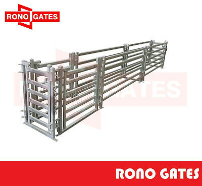 5m Sheep Draft Race & Sheep Yard Panel Gate