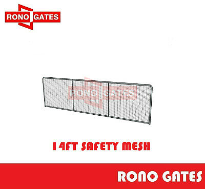 14ft Safety Mesh Farm Gate Horse Cattle Sheep Yard Panels