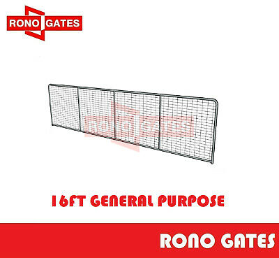 16ft General Purpose Farm Gate Horse Cattle Sheep Yard Panels