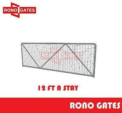 12ft N Stay Farm Gate Horse Cattle Sheep Yard Panels