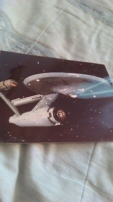 Vintage StarTrek Hollywood Production photograph - in Color - 1970s
