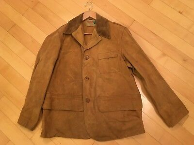 cd4fd3358c3c2 Vintage 1930's Duxbak Field Jacket Men's Canvas Hunting Coat Bird Duck  Antique