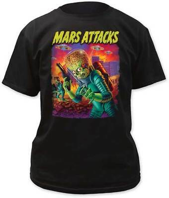 MARS ATTACKS - UFOS Attack - T SHIRT S-2XL New Official Impact Merchandising