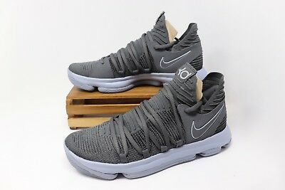 d6ef13840190 Nike Zoom KD 10 Basketball Shoe Dark Gray Silver Reflective 897815-005 Men s  NEW