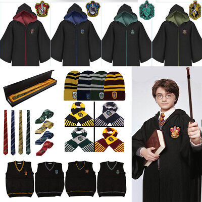 Harry Potter Cape Gryffondor Cosplay Sweater robe de Costume de Serpentard Wand