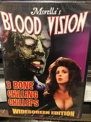 Blood Vision (DVD) 3 Bone Chilling Chillers! Widescreen Edition! BRAND NEW!