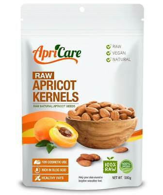 APRICARE Apricot Kernels  Raw 1 kg With B17