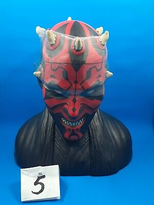 Star Wars The Phantom Menace Darth Maul Bust Cookie Jar/container✔✔✔