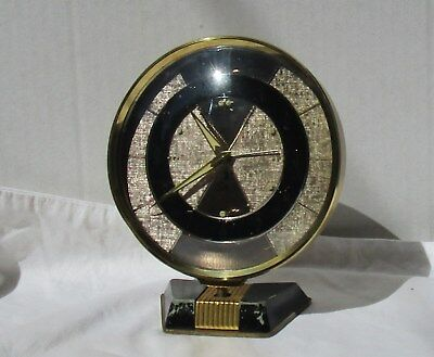 Great Gold, Silver and Black Alarm Clock from JAZ