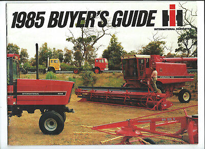 Ih International 1985 Buyer's Guide 36 Pages