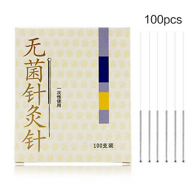 100Pcs/Bax Disposable Disinfection Needles Acupuncture Sterile Single Use ATUS