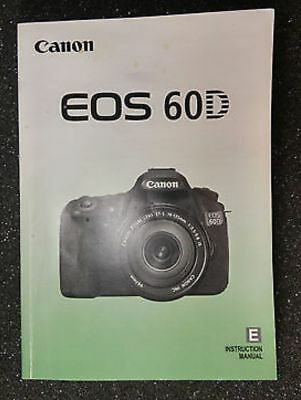 canon eos 60d instruction owners manual book new 14 99 picclick rh picclick com canon eos 60d user manual canon 60d user manual