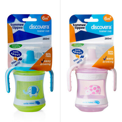 Tommee Tippee Discovera Trainer Cup 260mL - Assorted*
