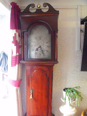 John Agar Long Case Grandfather Clock 1784 - 1814 south brent nr plymouth devon