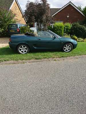 Convertible MGF Sports Car With Private Plste