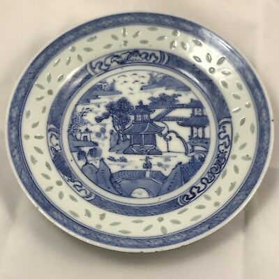 Antique Chinese Hand Painted Porcelain Dishes