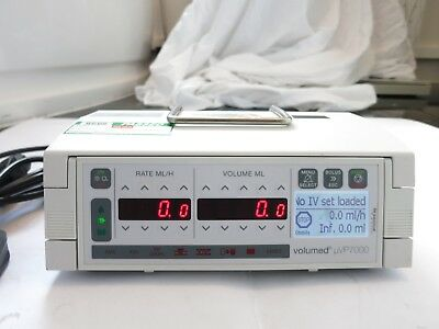 ARCOMED AG VOLUMED uVP7000 PREMIUM SYRINGE ICU PEDIATRICS INFUSION PUMP DRIVER