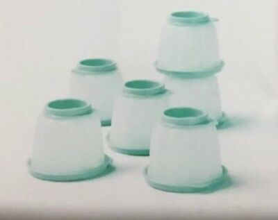 BRAND NEW Tupperware Jel-ettes  Small Jelly Moulds Jelettes Mint Set Of 6
