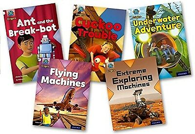 NEW x 5  STAGE 10 OXFORD READING TREE  Inventors and inventions ORT level 10