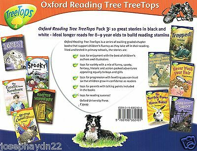 NEW SET of 10 TREETOPS stage 13 and 14  OXFORD READING TREE - IN ZIP BAG