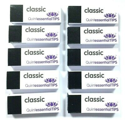 Quintessential Roach Filter Tips White 10 Booklets {50 Roaches Per Book=500}