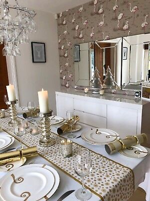 Christmas Table Runner Gold Best Luxury Paper Tablecloths Placemat