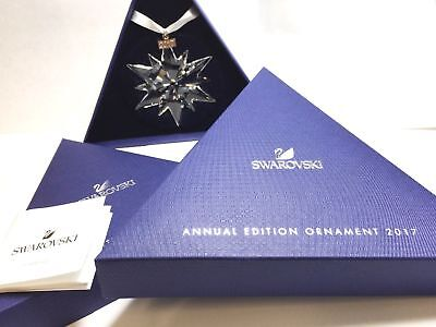 SWAROVSKI CRYSTAL 2017 large ..ORNAMENT SCS . NEW IN BOX WITH COA