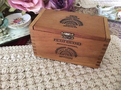 castaways Cigars Vintage Wooden Box Boxes/chests Antiques
