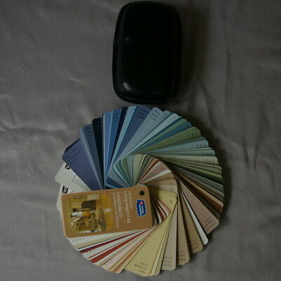 Benjamin Moore Paint Chip Fan Deck Book With Case Designer Classics Collection