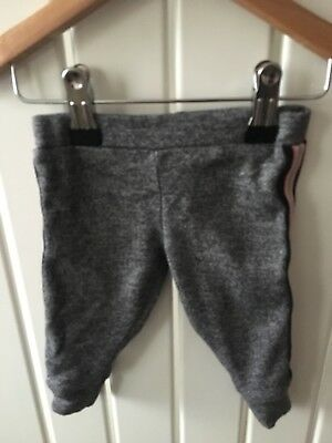 Baby Girl's Clothes 3-6 Months - Grey Skinny Fit Jogger Trousers By NEXT