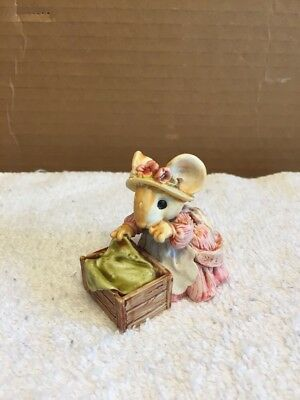 1991 Ganz Little Cheesers Mouse Figurine
