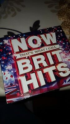 Now That's What I Call Brit Hits - 3 Cd Set