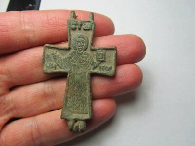 Medieval encolpion. Metal detector finds  100% original