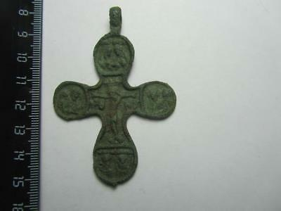 Medieval cross.  Metal detector finds  100% original