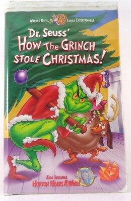 how the grinch stole christmas vhs 2000 clam shell - How The Grinch Stole Christmas Vhs