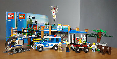 Lego City Forest Police Station 4440 Pre Owned With Instructions