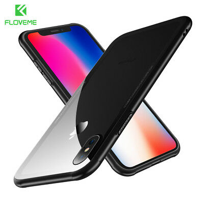 360° Full Cover Case + Tempered Glass For iPhone Xr X Xs Max 6 7 8 /Plus FLOVEME