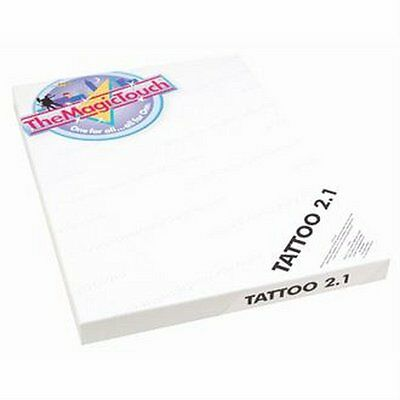 Tattoo 2.1 temporal TheMagicTouch 25 hojas/Sheets