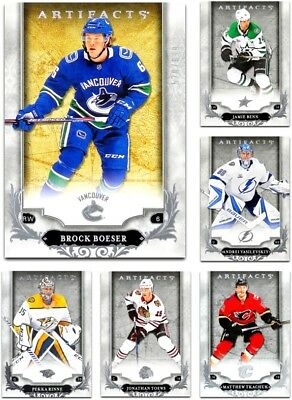 2018-19 Artifacts **** PICK YOUR CARD **** From The Base LIST