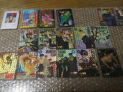 Yu Yu Hakusho Card Lot of about 300