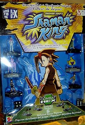 NEW Shaman King 8 Piece STARTER SET Combat HEX Mattel SHONEN JUMP'S Collect Toy