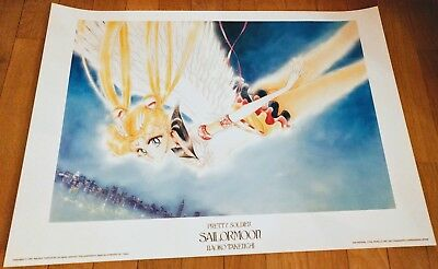 Eternal Sailor Moon 1000 Editions Poster Hochglanz Lithographie 1997 N. Takeuchi