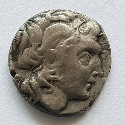 Kingdom of Thrace, Lysimachus AR drachm. Uncertain mint, before 225 BC.