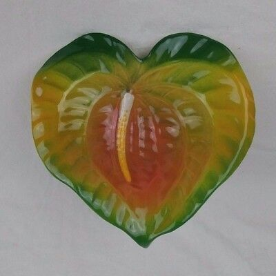 TROPICAL CLAY Hawaii Anthurium Flower Multi-Color Collectible